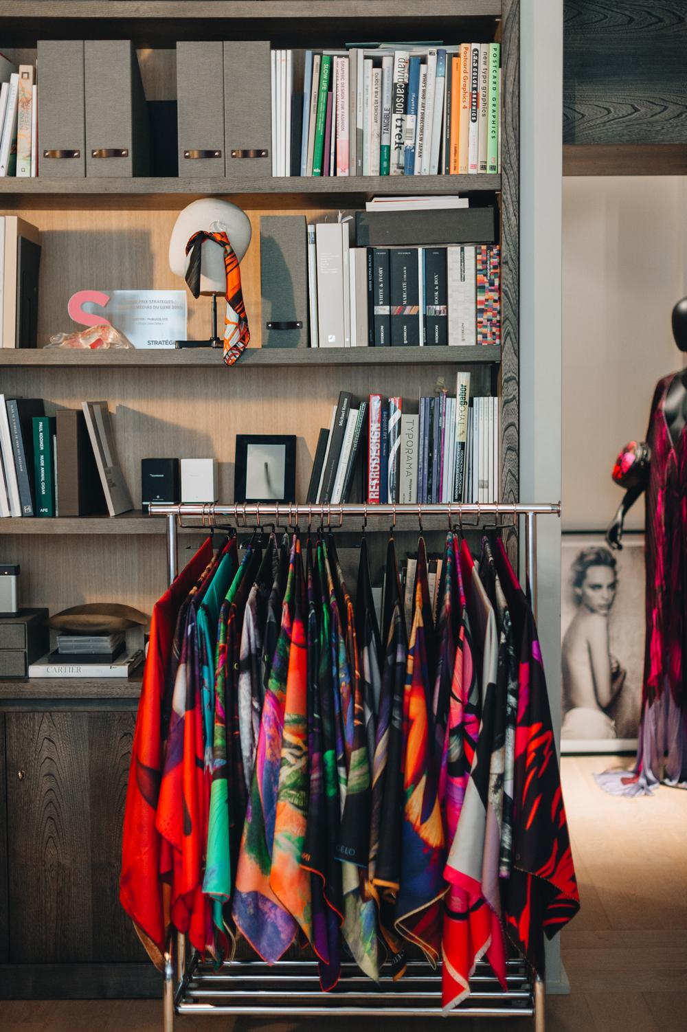 The Innangelo showroom in Paris