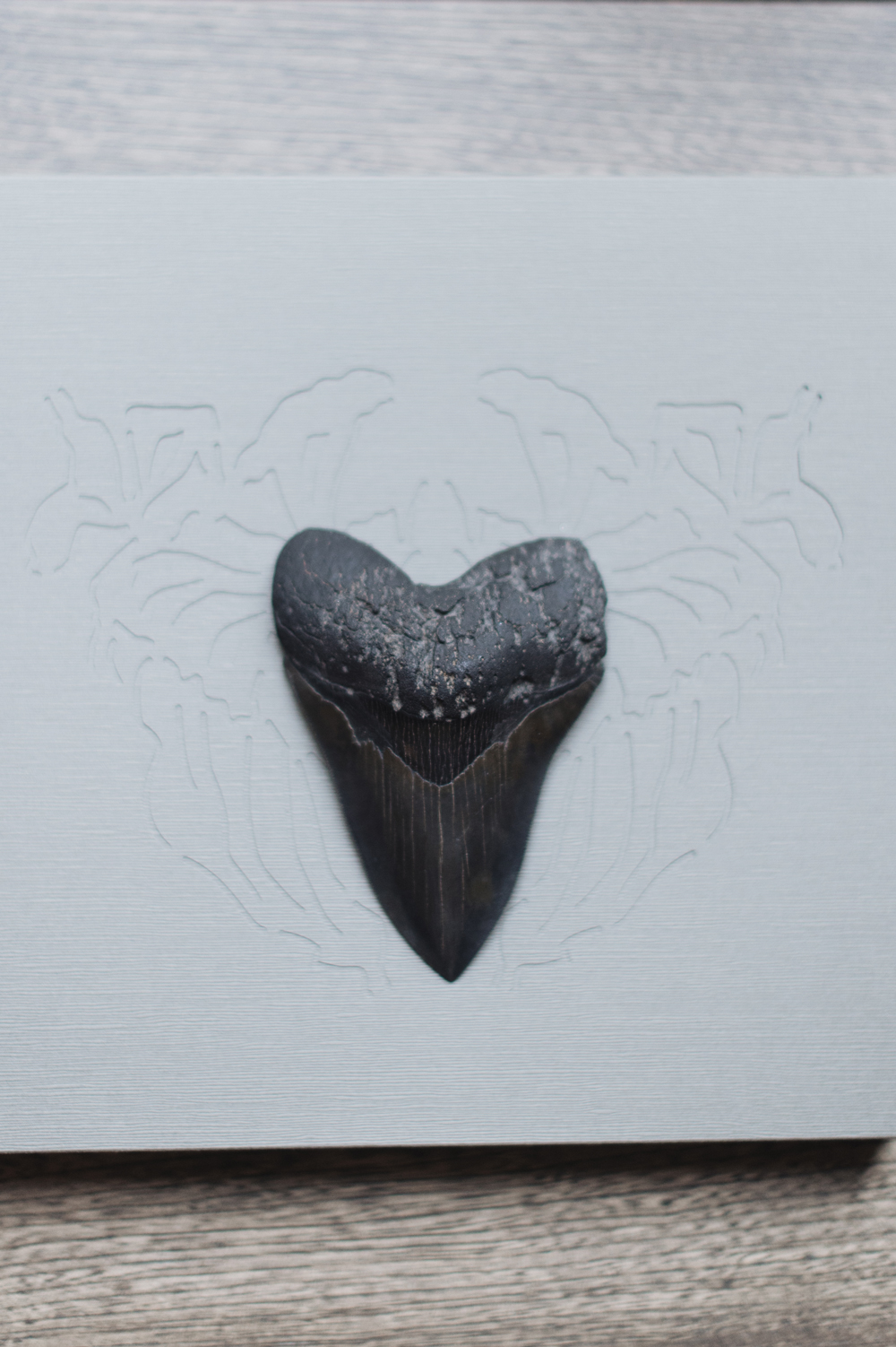 An inspirational heart shaped objet from Inna's personal collection