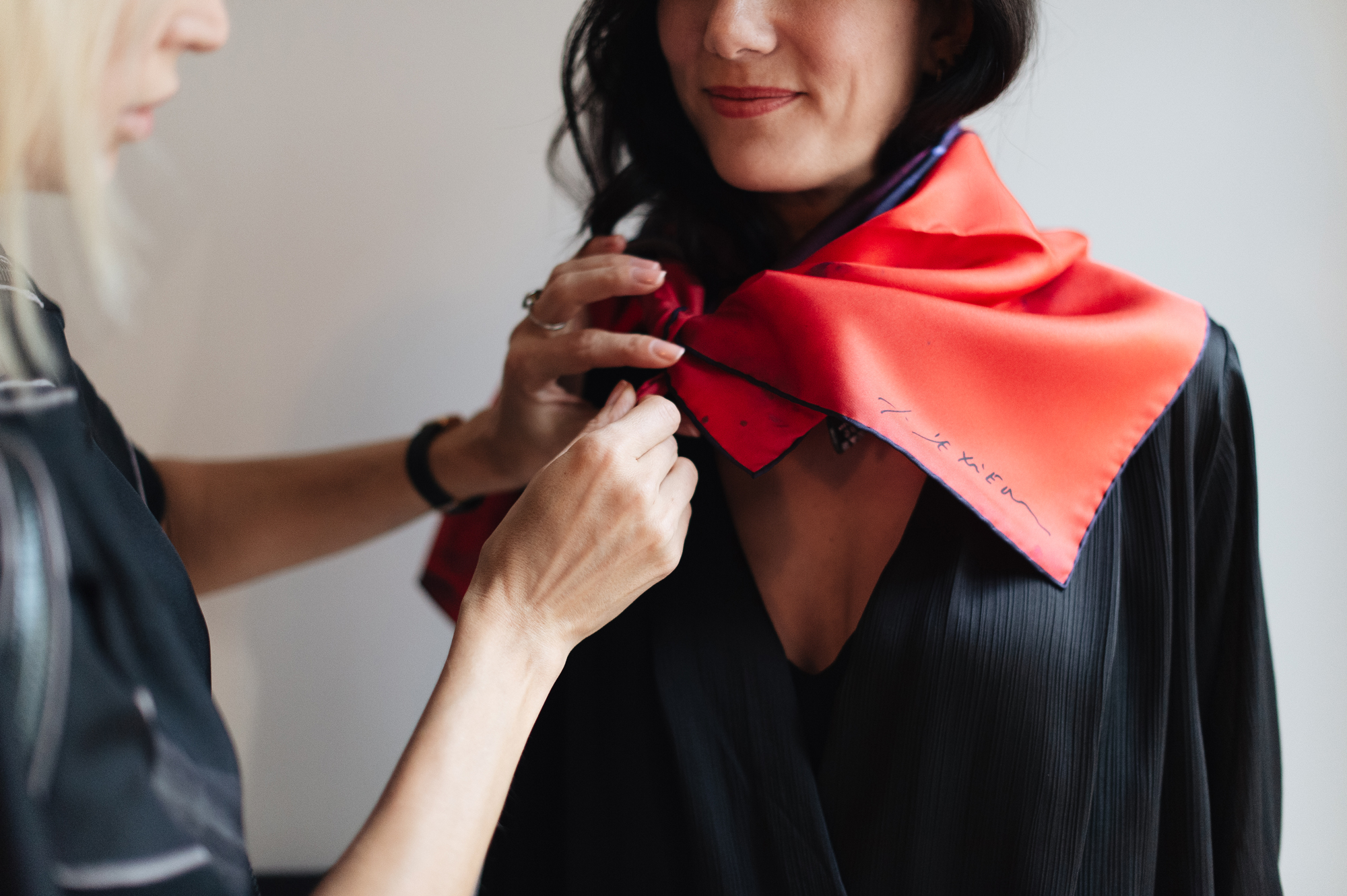 Innangelo x Richard Texier silk scarf