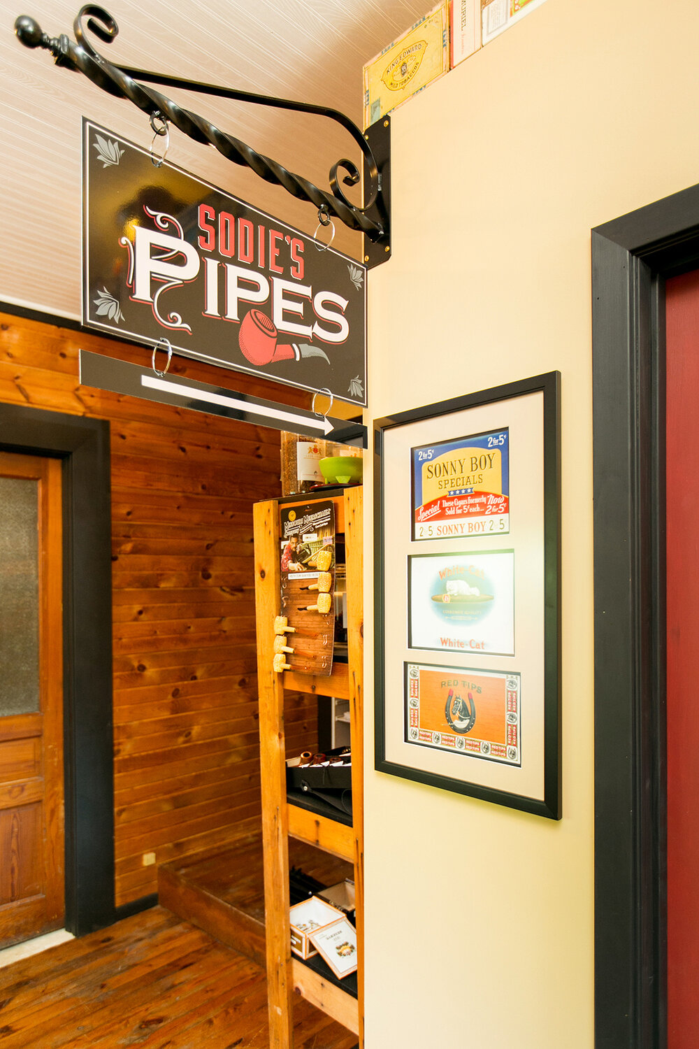 Sodie's Pipes. Photo by Kristina Marshall.