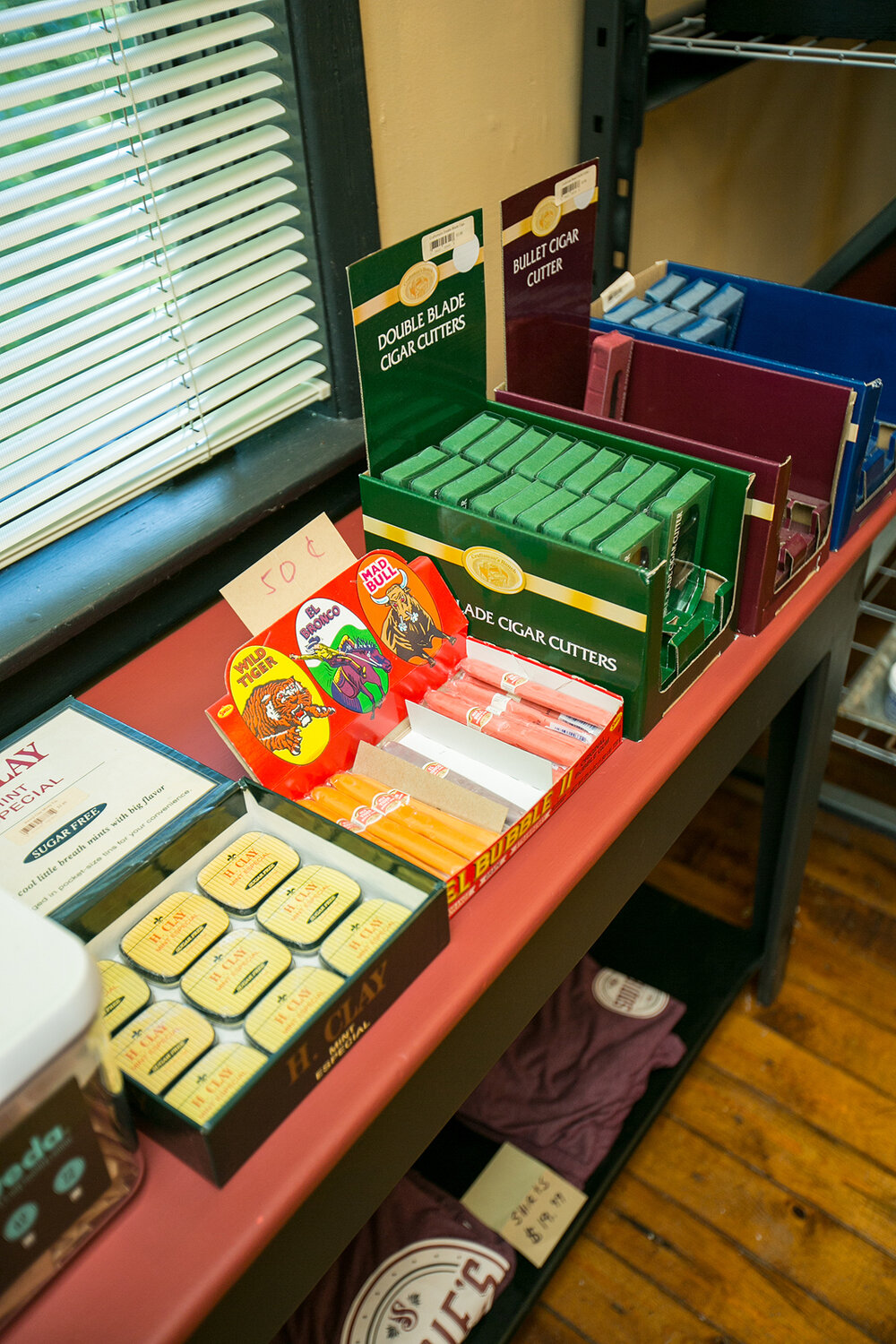 Mints, Cutters, Candy cigars. Photo by Kristina Marshall.