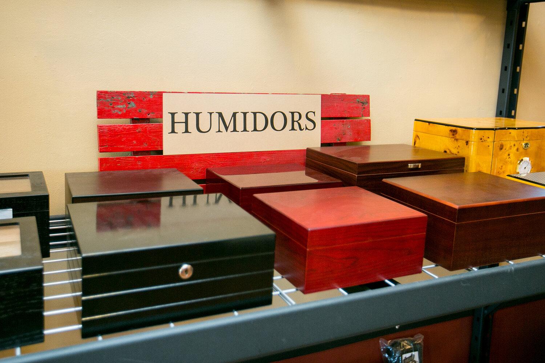Humidors. Photo by Kristina Marshall.