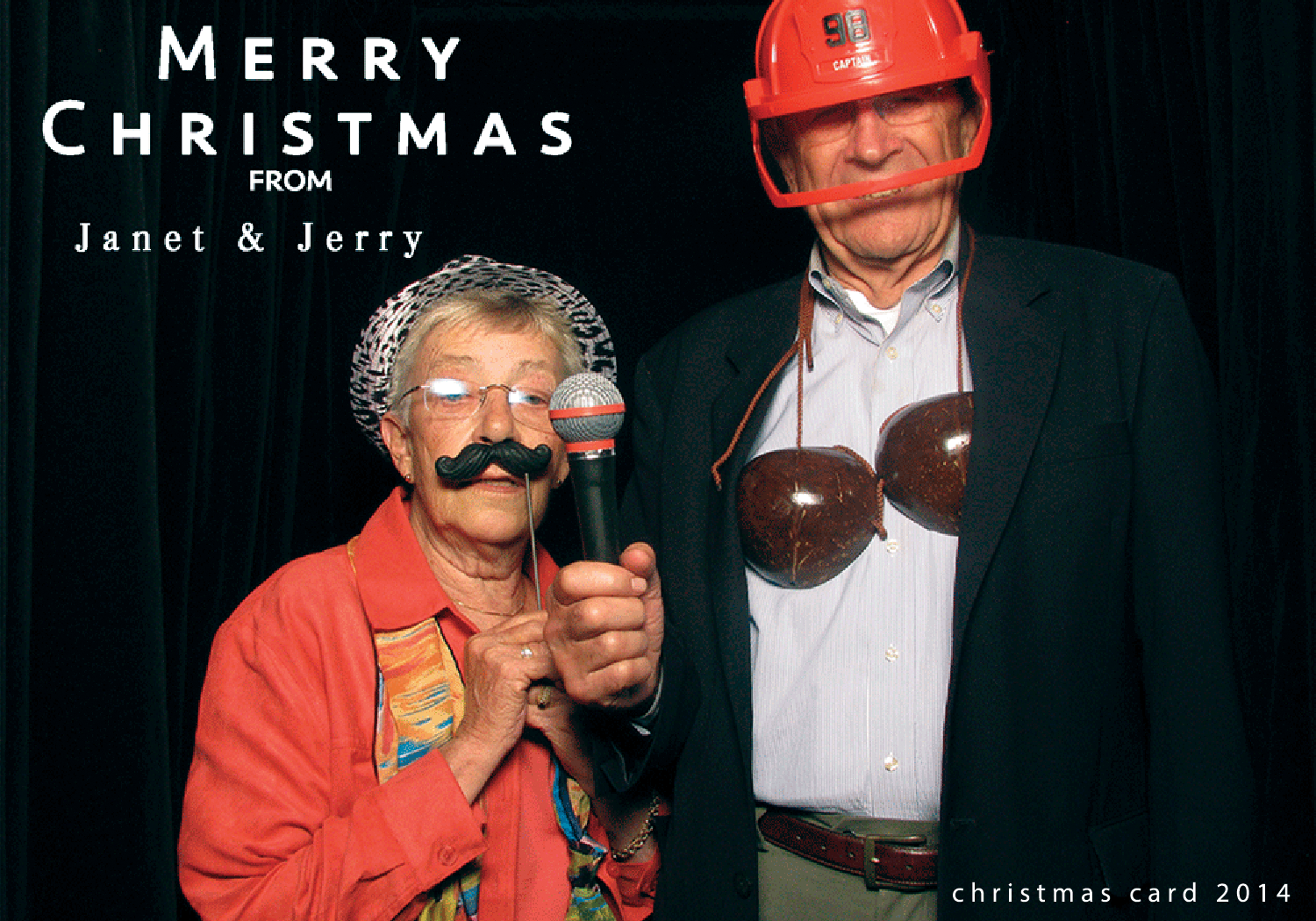 Yes, this was there christmas card. THE COOLEST GRANDMA  EVER . she actually picked this photo out and handed to me and asked if i could make this into a christmas card. so i did and this is what they sent out 2014.