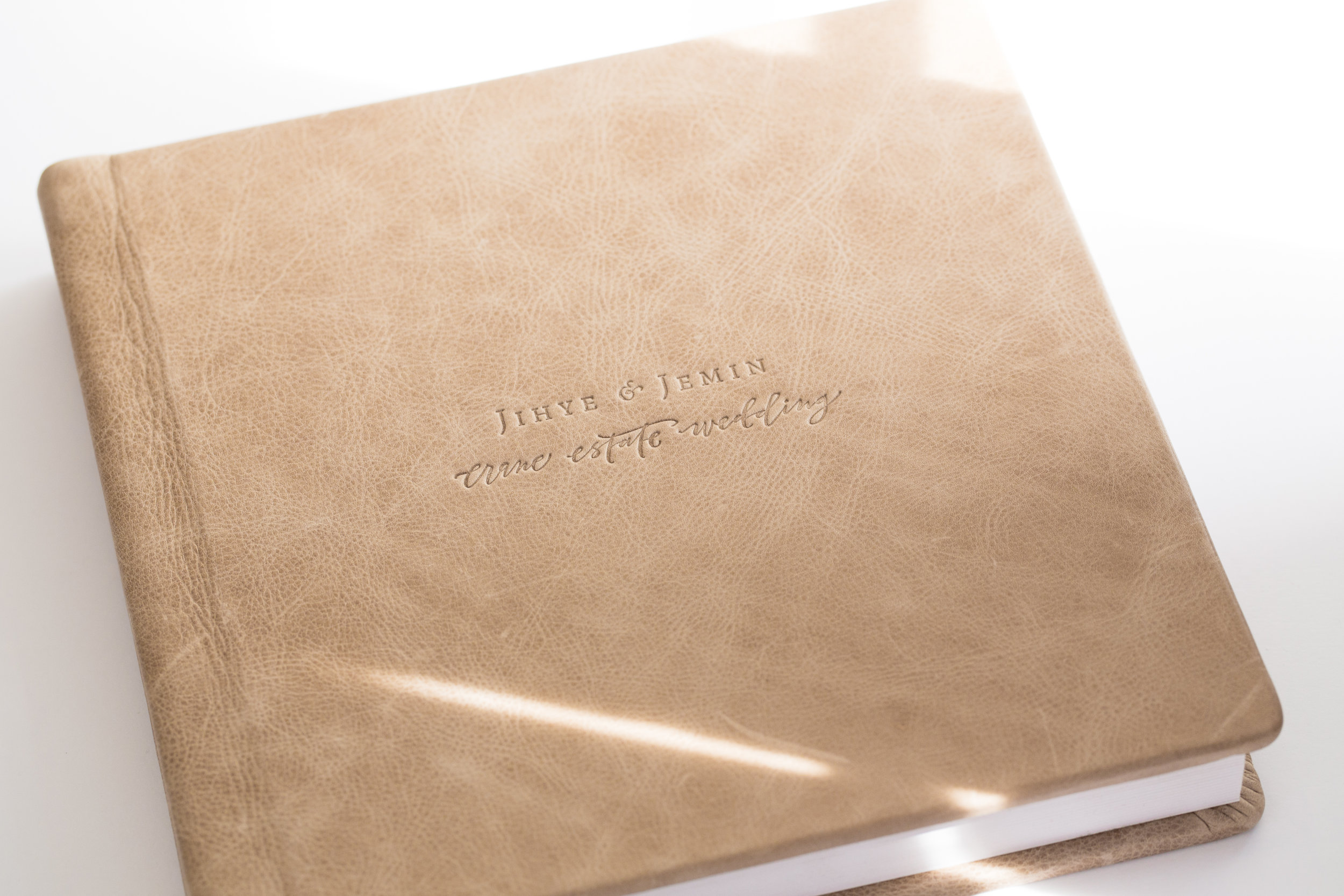 Signature Album - 10x10 hardcover album.Thick archival pages and sturdy cover that will last for generations.$800