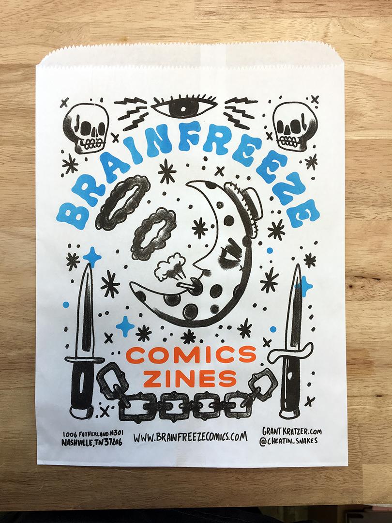 Brainfreeze Bag #001 / Grant Kratzer
