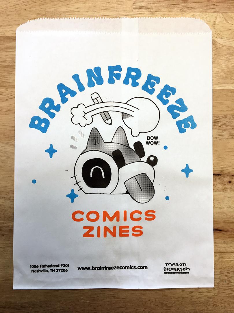 Brainfreeze Bag #003 / Mason Dickerson