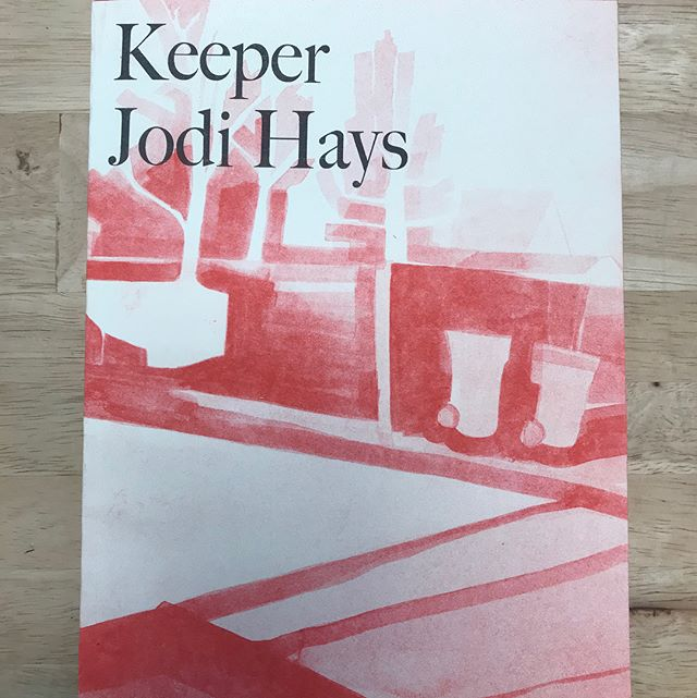 🚨 LOCAL BOOK ALERT 🚨 KEEPER by Jodi Hays // Published by local press EXTENDED PLAY // Riso printed // #brainfreezenashville #brainfreezecomics