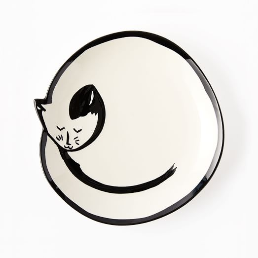 SLEEPING CAT TRINKET DISH - $19   One can never have too many trinket dishes! And in the shape of an adorable sleeping cat...need I say more?