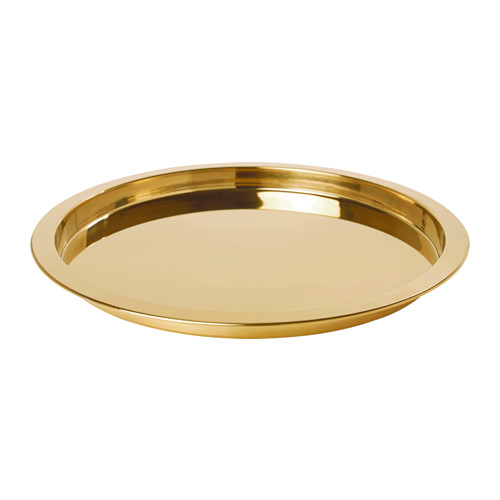 GLATTIS TRAY - $20   You can never go wrong with a gold serving tray - especially if it's filled with Holiday Sweets!