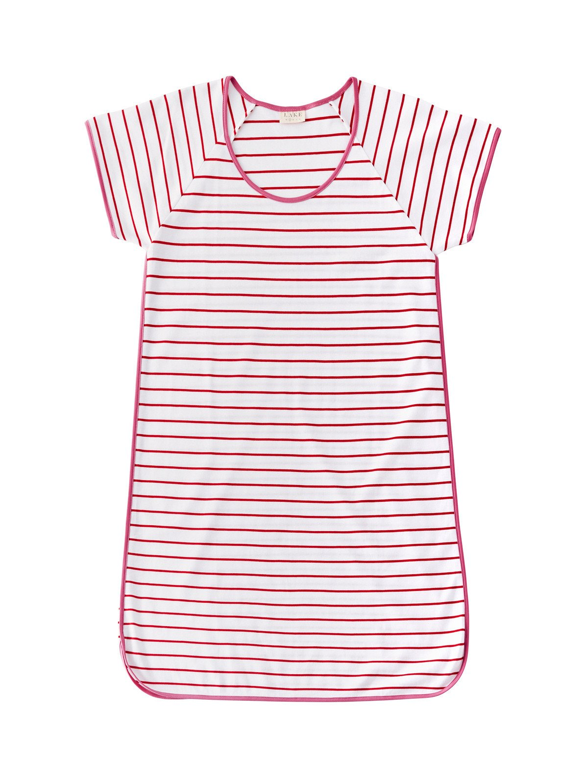 LAKE PAJAMAS BERRY NIGHTGOWN - $74   A Personal Favorite - These Classic Striped Pajamas come in all colors & styles.