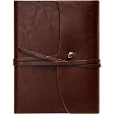 TOSCANA JOURNAL - $33   A classy Leather journal is the perfect place for him to organize his thoughts, doodle, and jot down favorite memories & quotes.