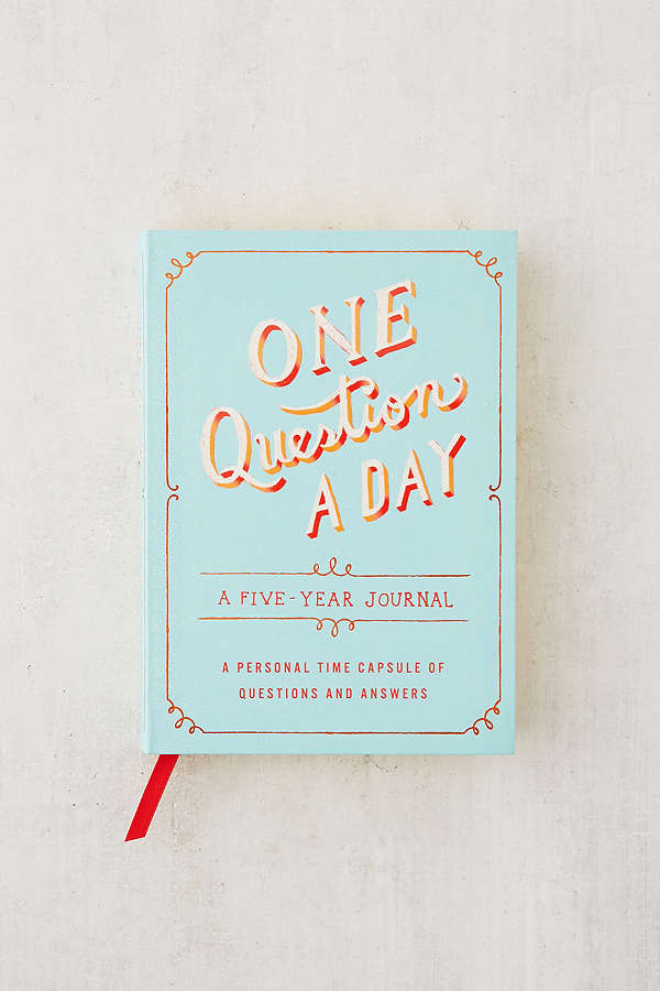 QUESTION A DAY - A 5 YEAR JOURNAL - $17   Perfect for the person who doesn't have a lot of time to journal.