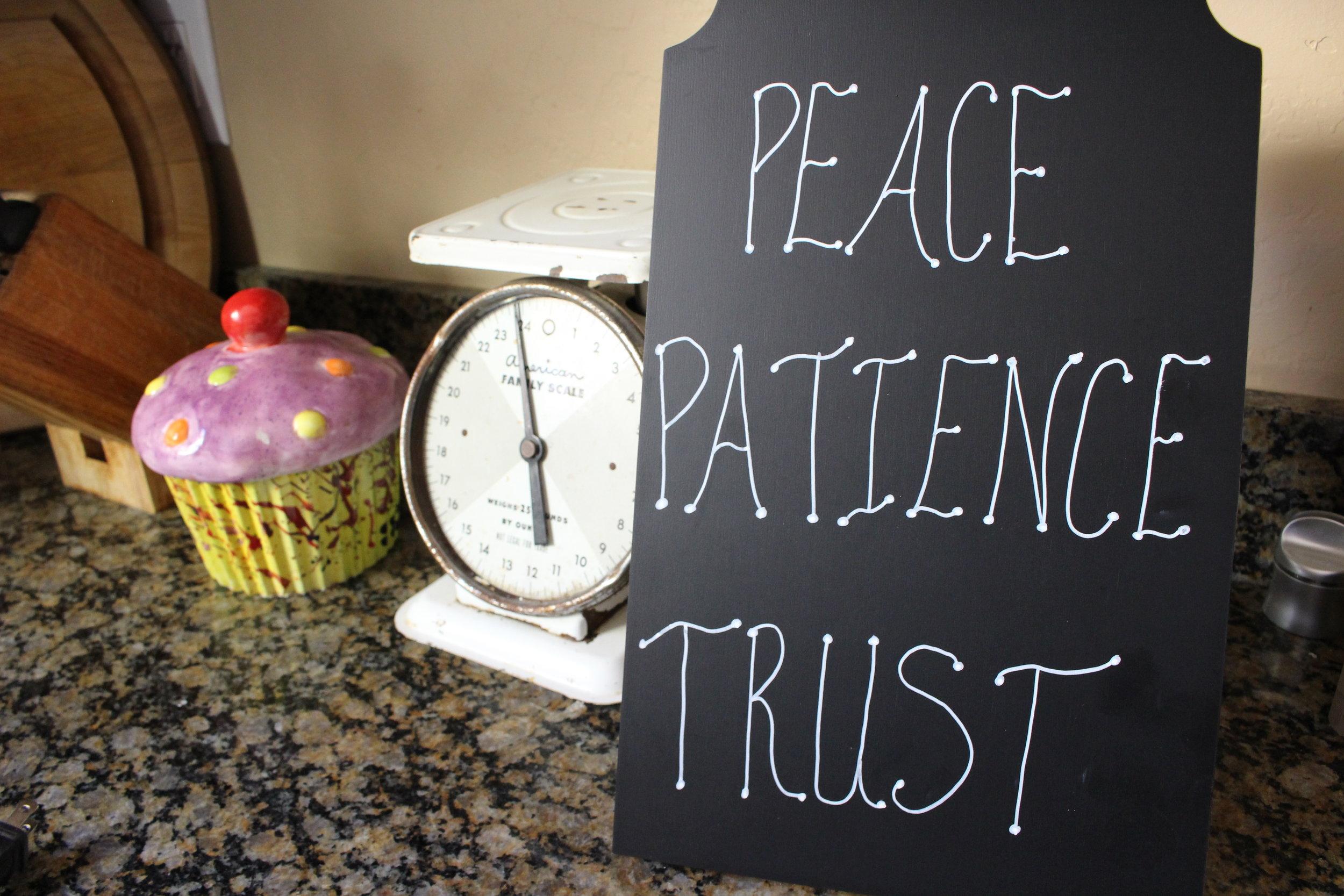 Peace Patience Trust