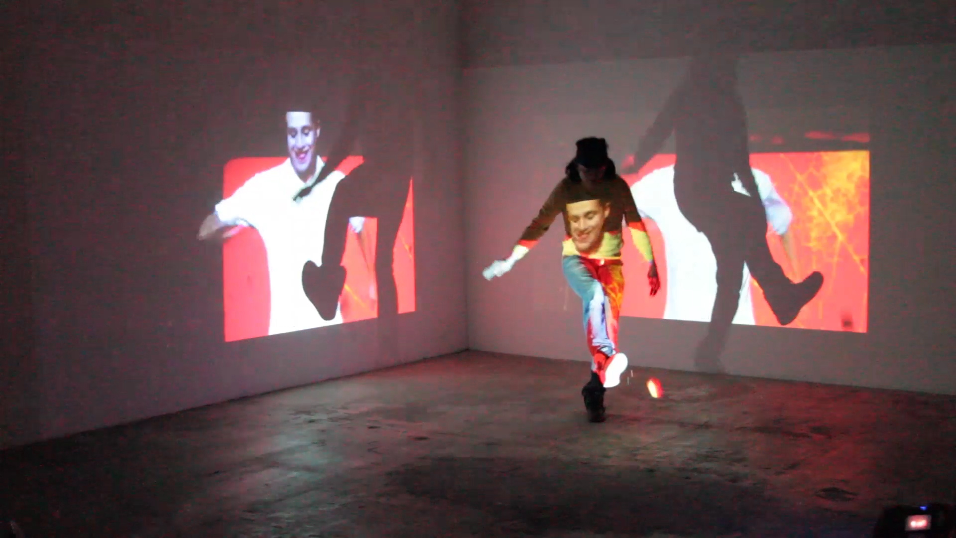 Documentation of performance at LTD Los Angeles