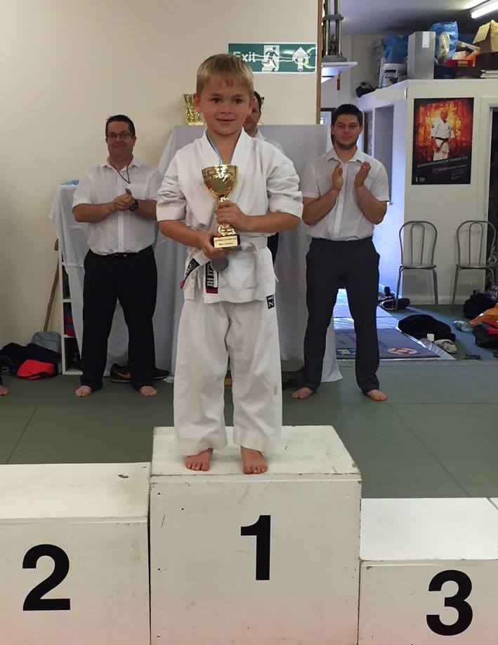 Jake Patterson; Best Fighter Award. A young talent from Loughbourough dojo.