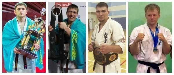 We welcome WKO Kazakhstan who bring  Dmitriy Moisseyev (2x lightweight Shinkyokushin World Weight Champion)  Vladimir Artyushin, Ilya Yakolev & Dmitriy Fedorov (multiple World and European champions)