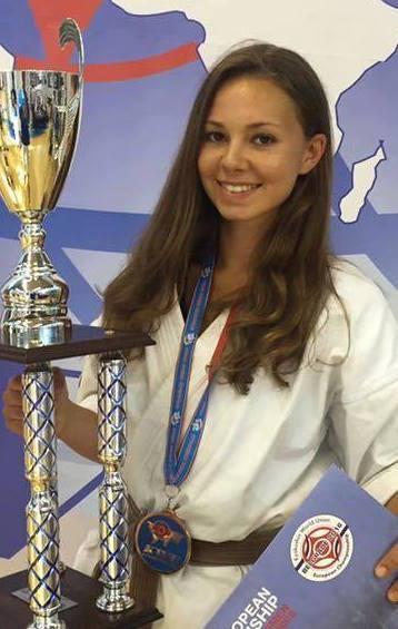 IFK Germany brings Womens LW  Lara Seydel 3rd place 1st KWU Euro Champs 2016 1st place U22 Diamond Cup 2016 3rd place U21 IFK World Champs 2015