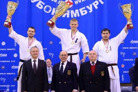 Yamburg Gazprom will participate with three fighters representing their region IFK Novy Urengoy.  Artur Tilov Mens HW IFK Russian Champion 2014/2015 KWU World Champion 2013 Cup of Europe Champion 2012  Vitalii Ishakhneli Mens HW IFK Russia Champion 2016 KWU European Champion 2016 Cup of Europe Champion 2014  Aleksandr Karshigeev Mens HW Cup of Europe Champion 2015 Yamburg Cup 2014 3rd place