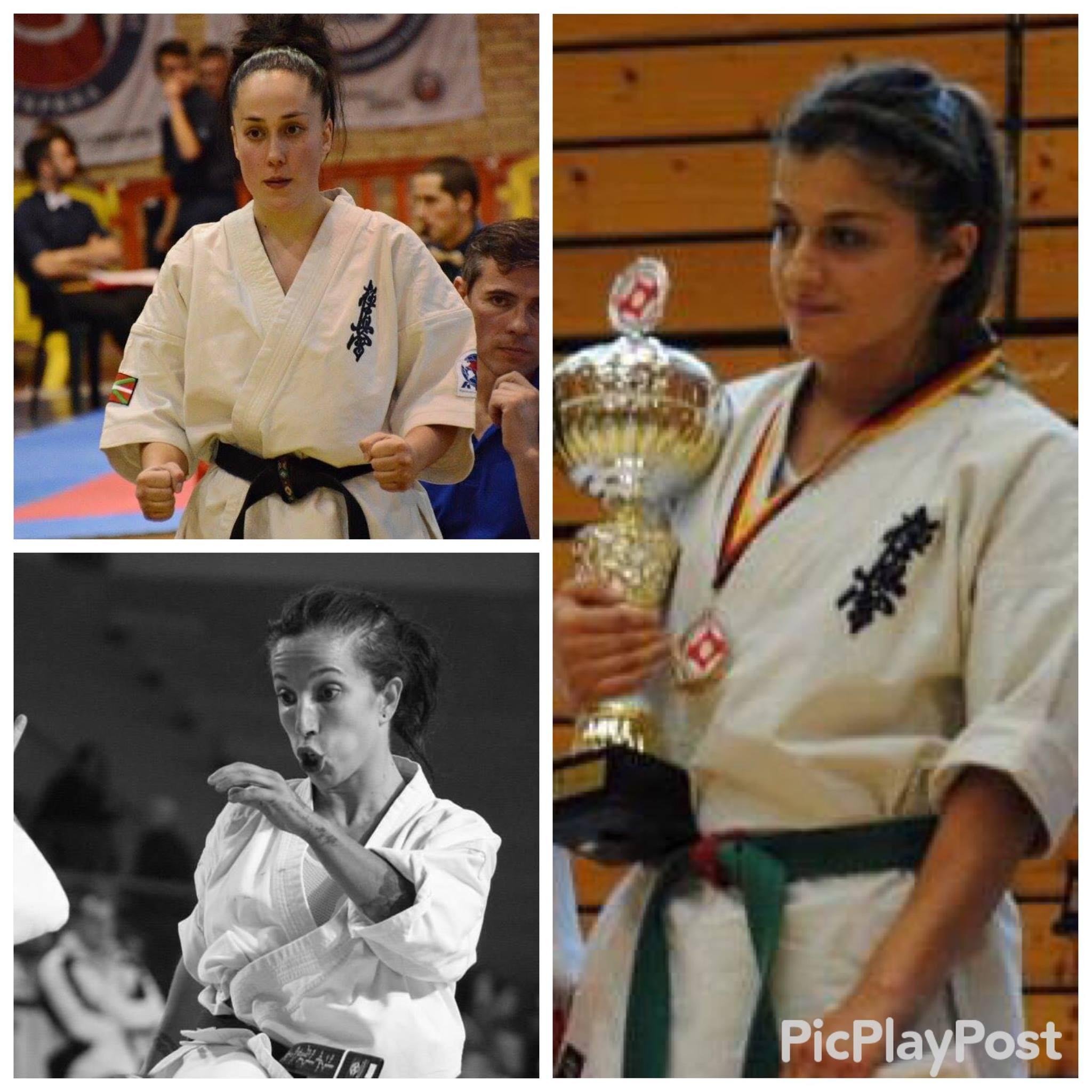 Teona Gazdeliani Womens Lightweight World Champion Rengokai 2015  Iria Fernandez Womens Lightweight European Championships 2014 2nd place  Rocio Maldonado Womens Lightweight Spanish Champion