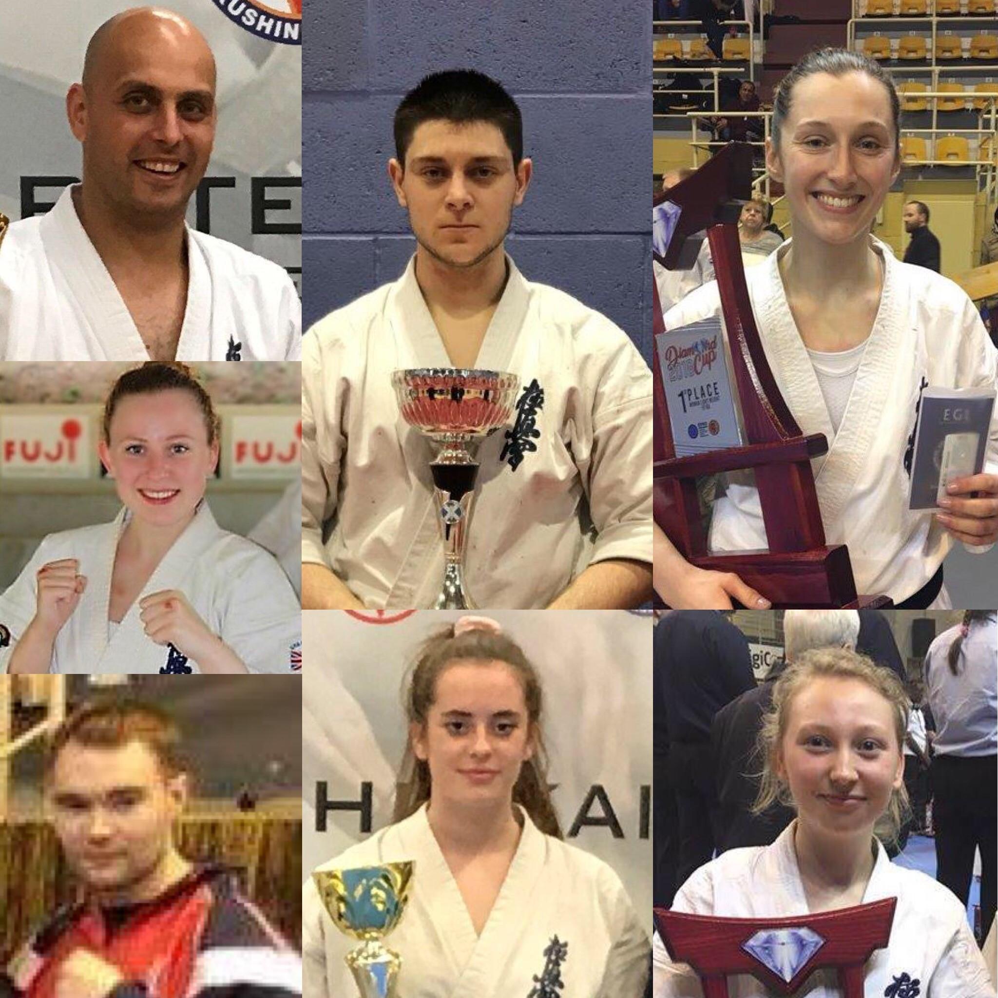 (clockwise): Gab Barbu, Blake Collins, Emma Markwell, Jaime-May Rowlands, Beth Salvi, Luke Baldwin, Hayley-Beth Rowlands