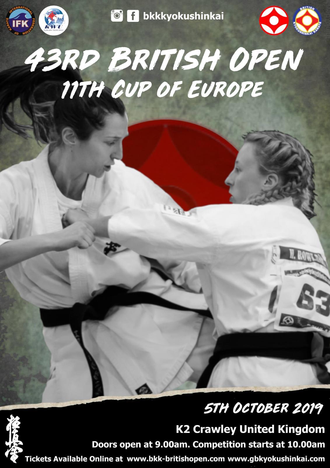 British Open 2019/ 11th Cup Of Europe — British Karate
