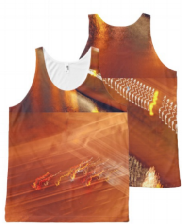 Traffic  all over print unisex tank top $47.45
