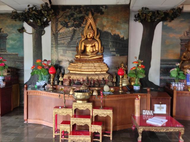A shrine for worship
