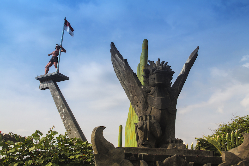 Statues at The Old Port of Buleleng