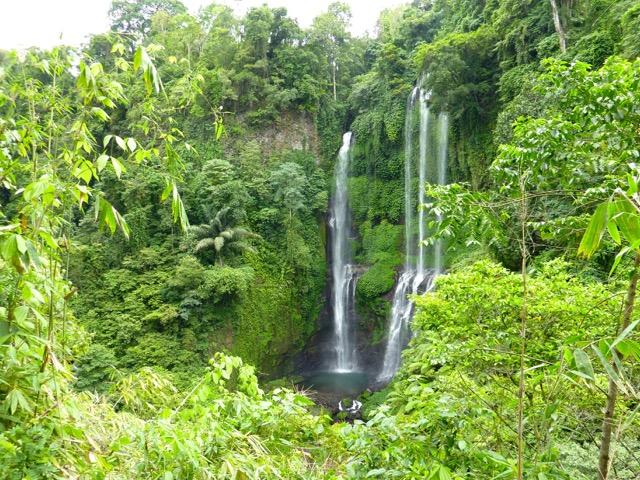 The Lemukih Waterfall near Singaraja