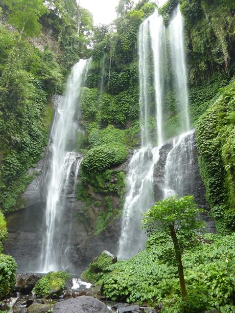 Close up of Lemukih Falls