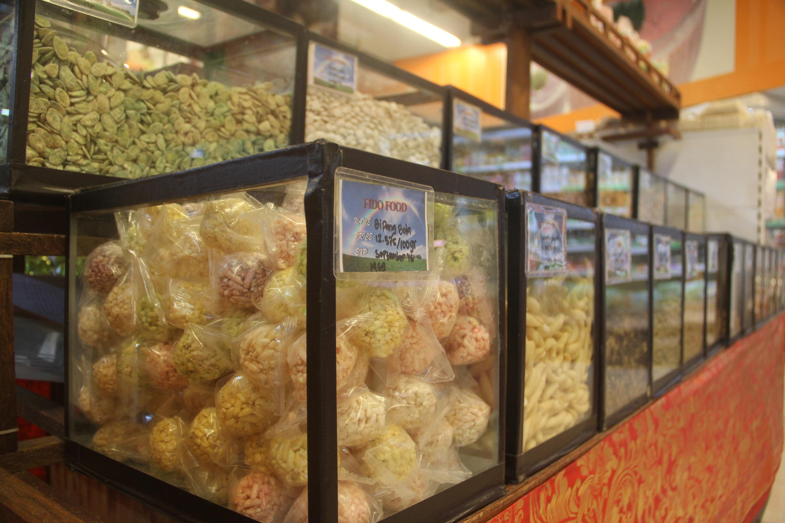 Bulk Foods Section