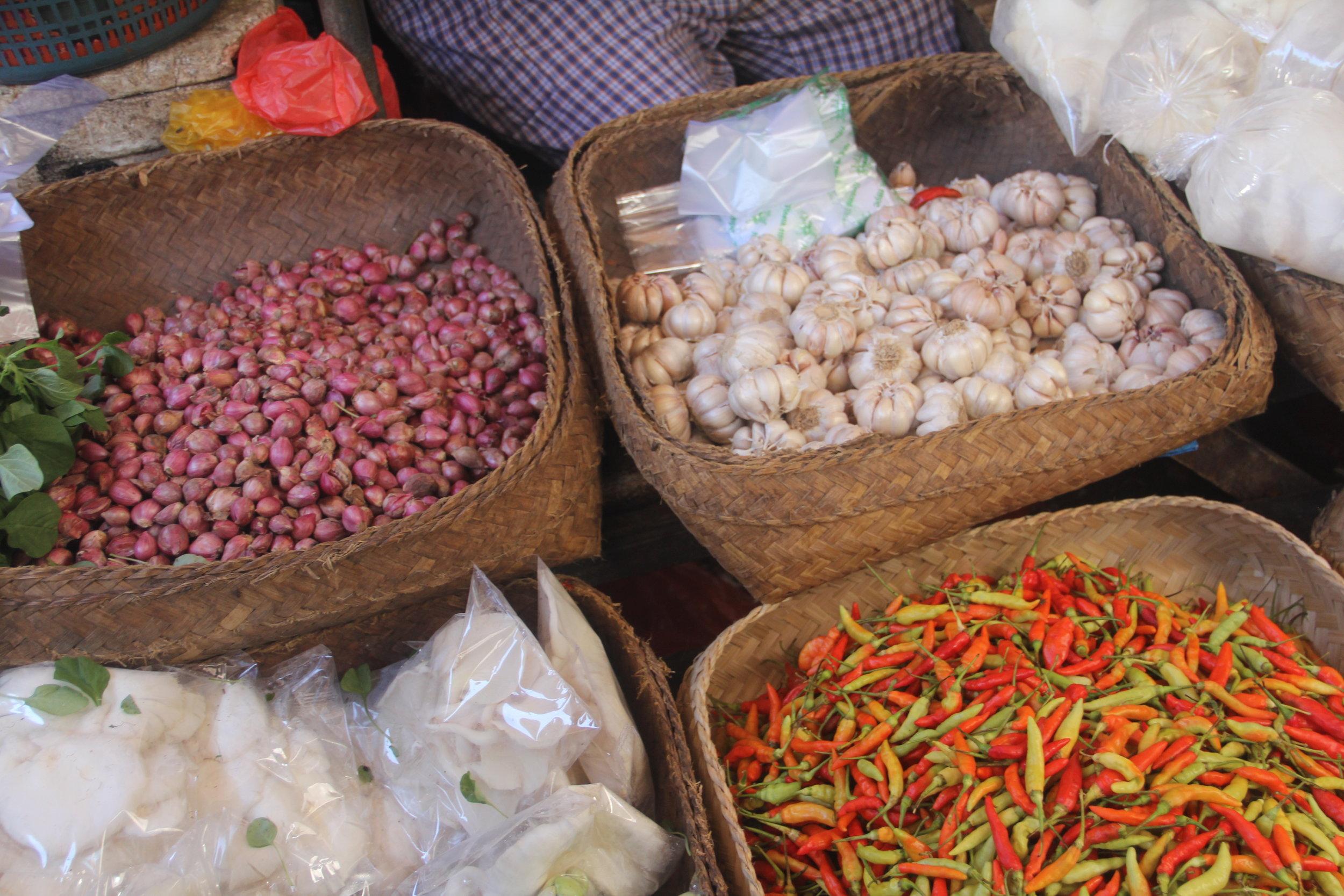 Assortment of Fresh Ingredients