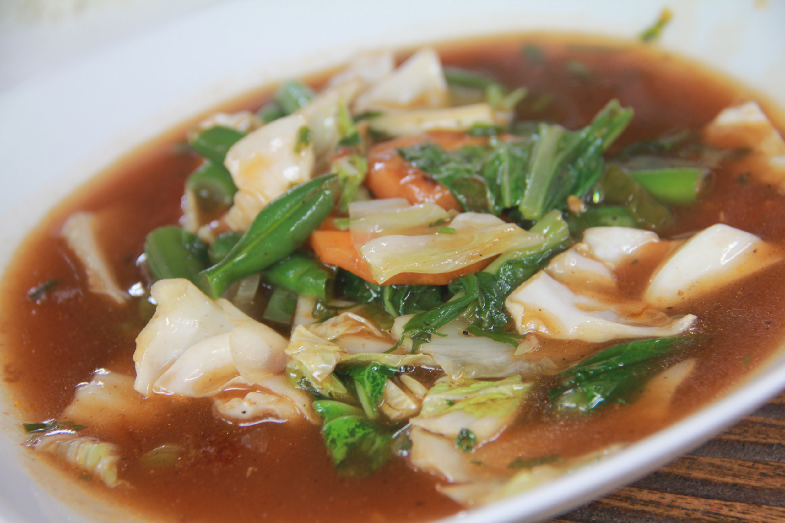 Stir Fried Vegetable Soup (Capcay)