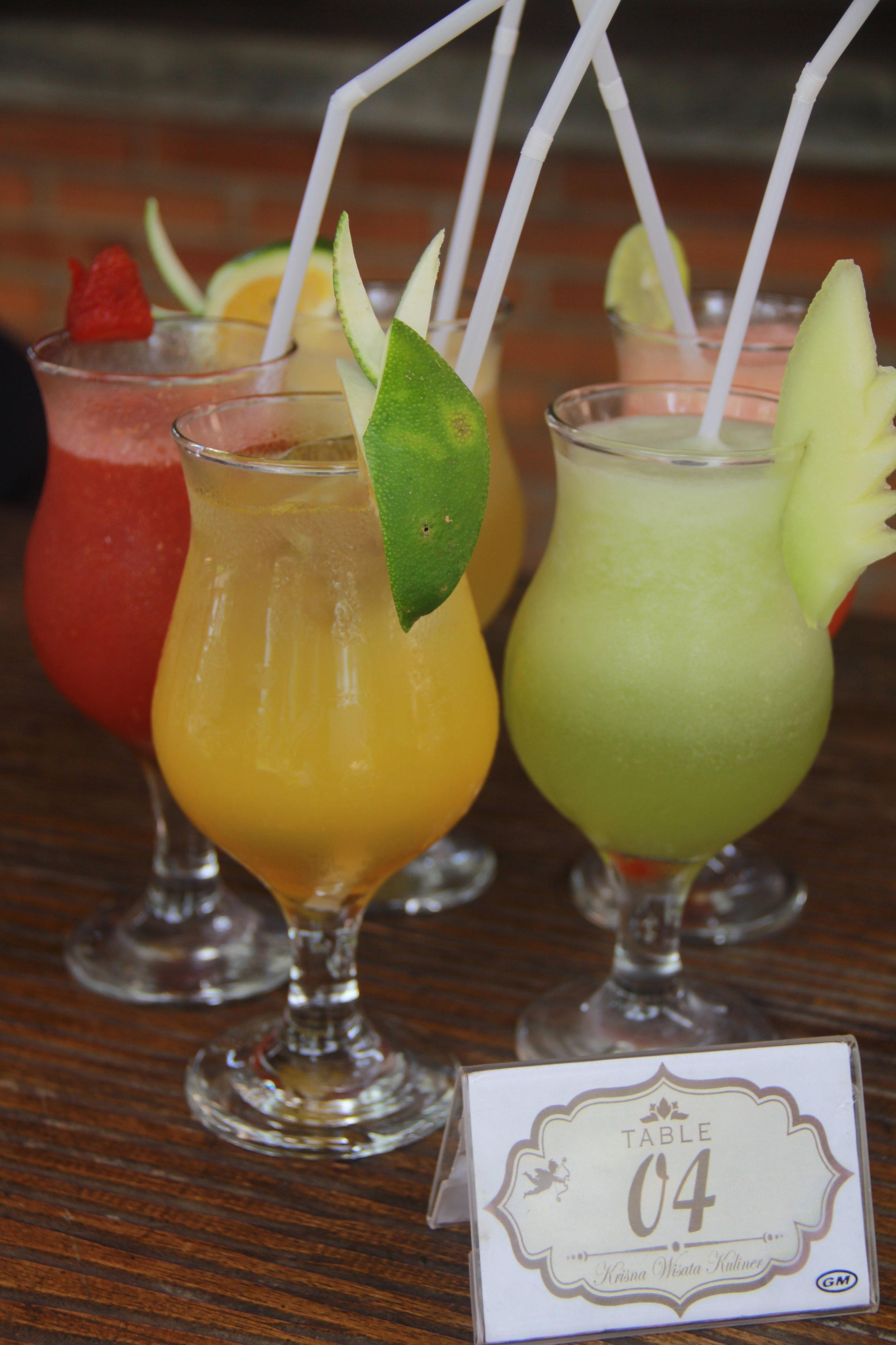 Juice in Bali