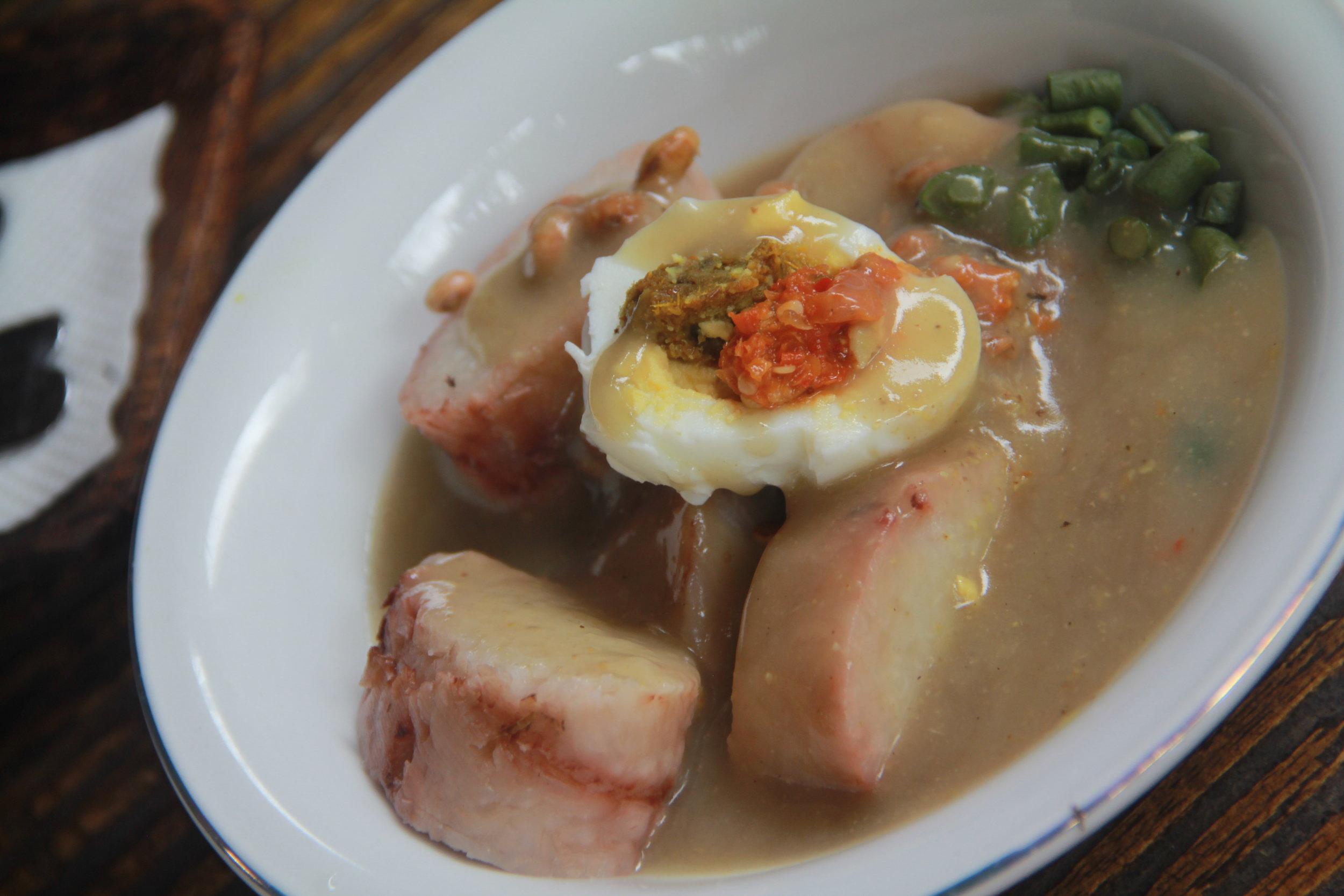 Bali Specialty Vegetable Dish (Rambanan)