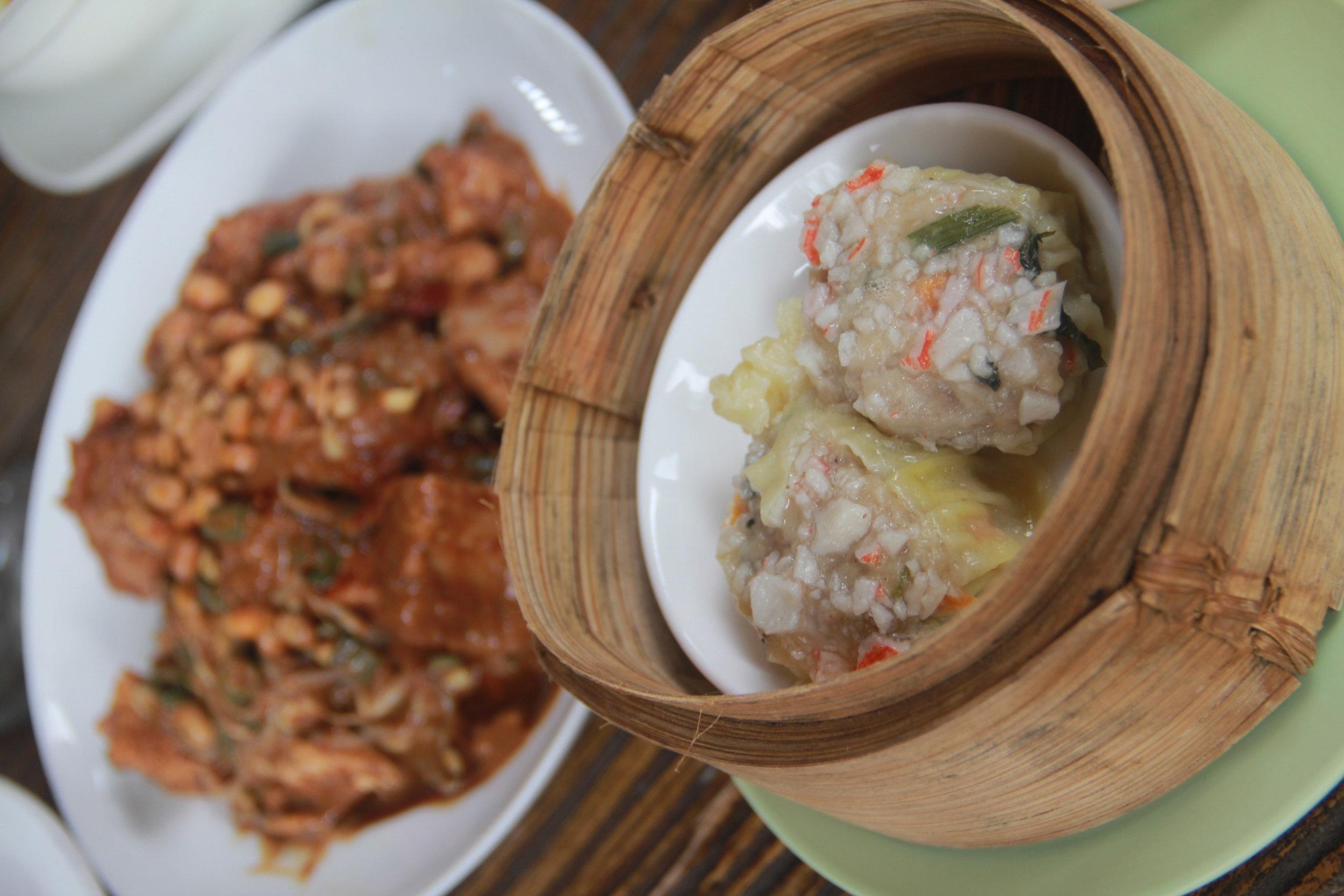 Indonesian Fish Dumplings (Siomay)