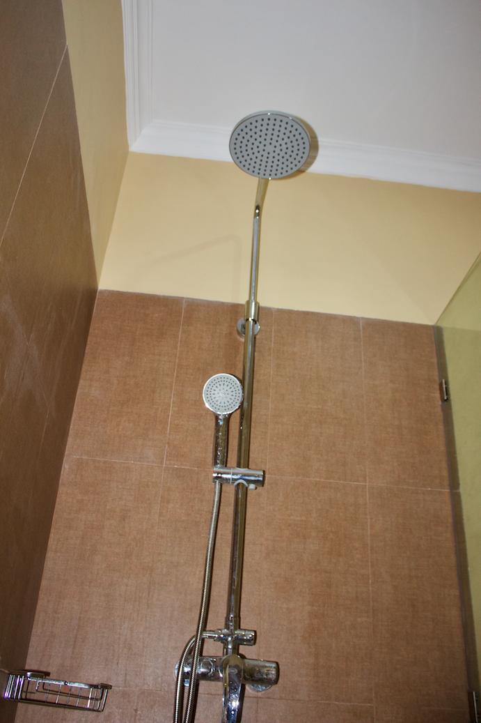 Shower Close-Up