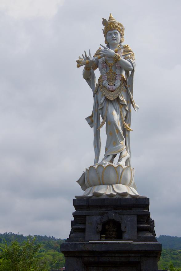 Close up of Statue at Krisna