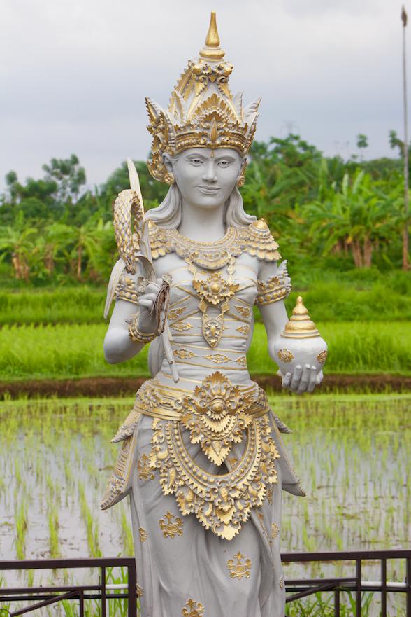 Statue of Dewi Sri