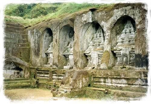Gunung Kawi Temple in Ubud Built in 11th Century