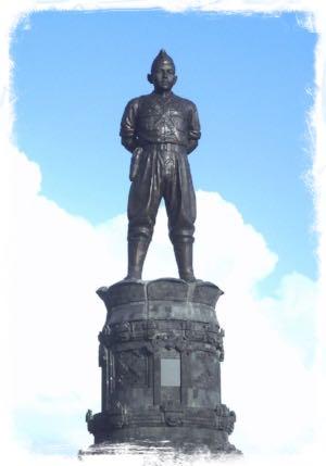 Memorial Statue of Colonel I Gusti Ngurah Rai