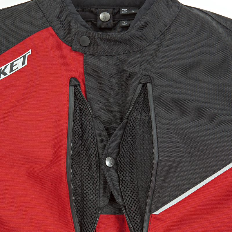 Cross-Linked Ventilation System - Outer Textile Jacket