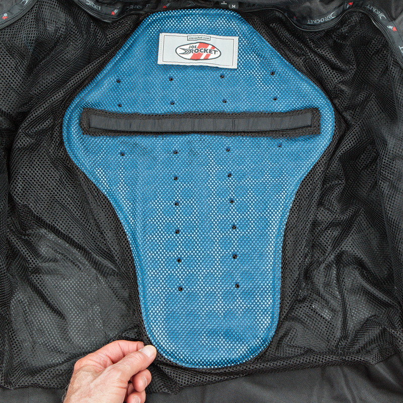 Removable spine pad - Inner Mesh Jacket
