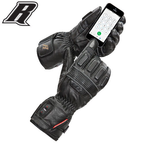 JOE ROCKET® MENS ROCKET BURNER LEATHER HEATED GLOVE $199.99