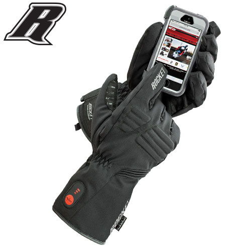 JOE ROCKET® MENS ROCKET BURNER TEXTILE HEATED GLOVE $159.99