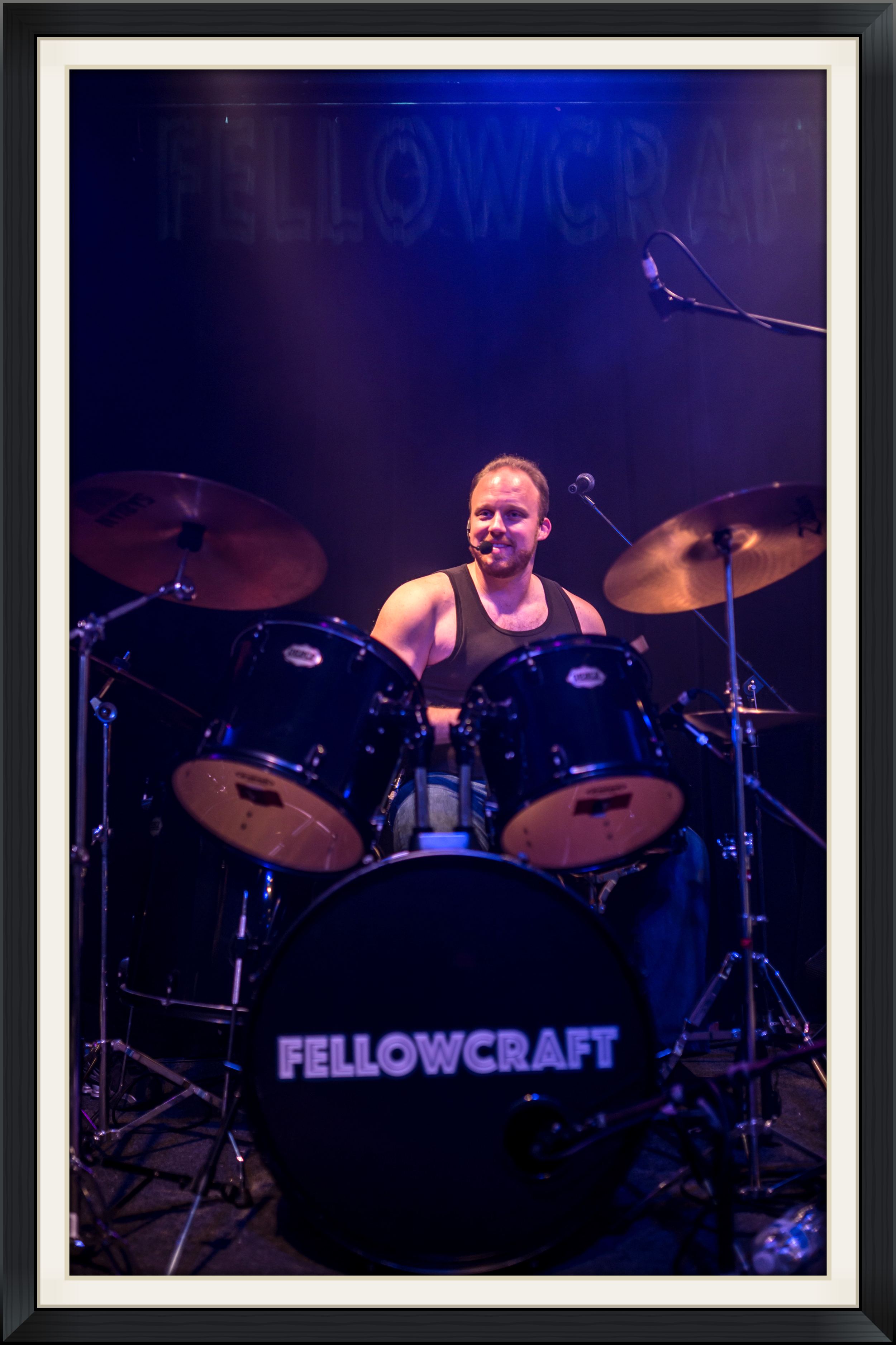 Brian Nelson-Palmer, drummer Fellowcraft DC Music Rocks
