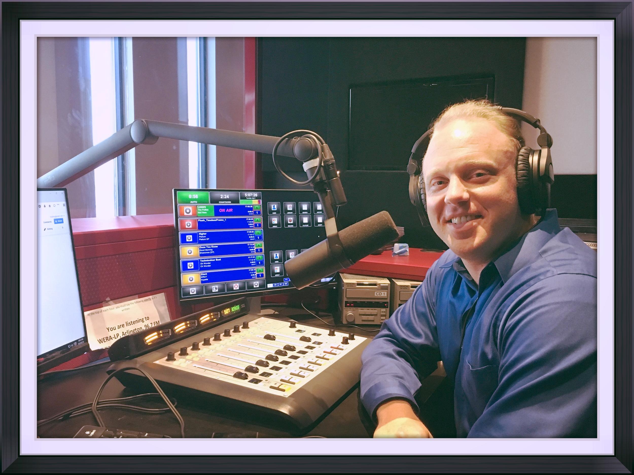 Brian Nelson-Palmer DC Music Rocks Host