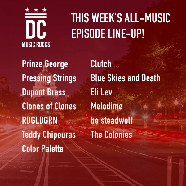 DC Music Rocks All Music Episode Oct 30 2018