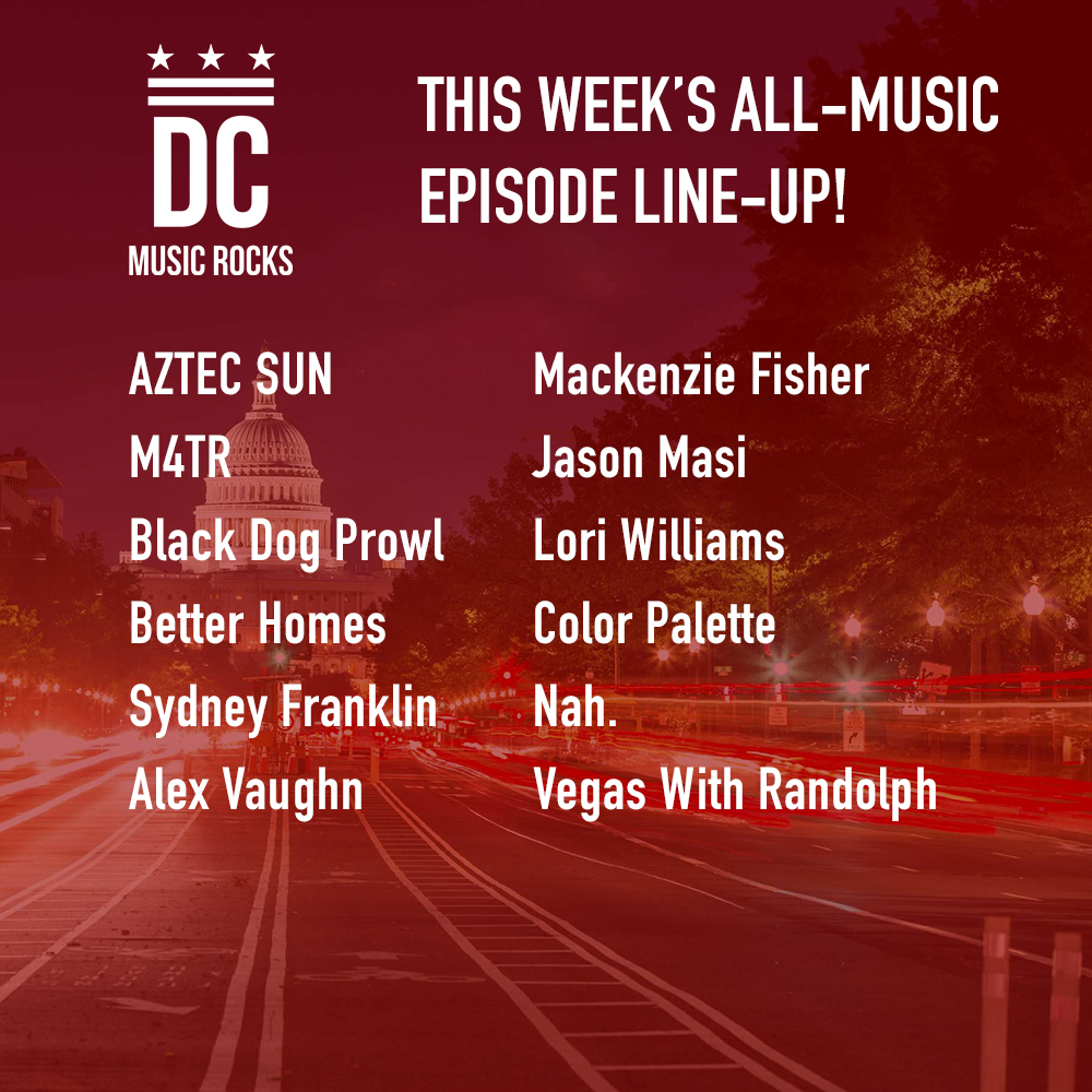 DC Music Rocks All Music Episode Nov 20 2018