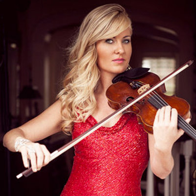 Rosemary Siemens    Known for her love of sparkle and bling, quirky laugh, and warm genuine personality, world-class improv-violinist and vocalist Rosemary Siemens has mesmerized audiences around the world since the age of three.   Read more »